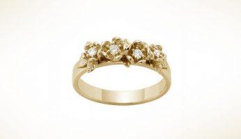 Ring-diamond