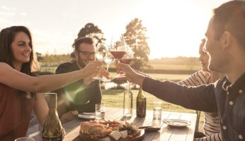 Summer Villa-maria-people-cheersing